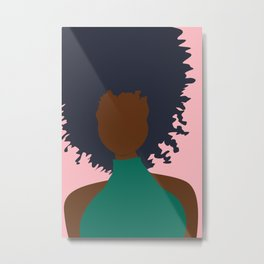 Thoughts of Pink Metal Print