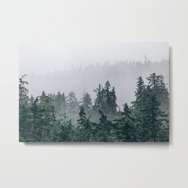 The Faded Fog Metal Print