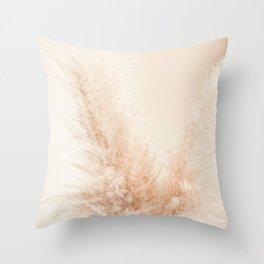 Pampas Grass Throw Pillow