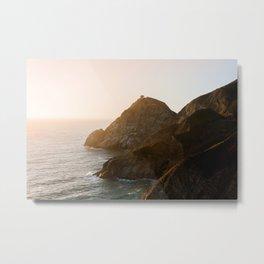 ocean falaise 7 Metal Print