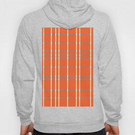 Tangerine White Light Blue Hoody