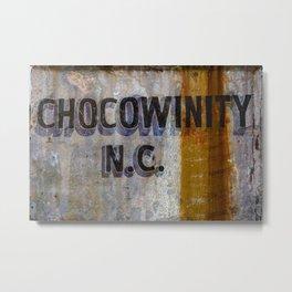 Chocowinity North Carolina Metal Print