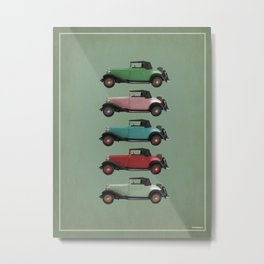 Five Vivastella's Metal Print