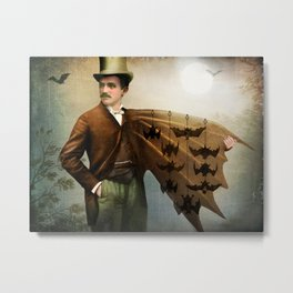 The Salesman Metal Print