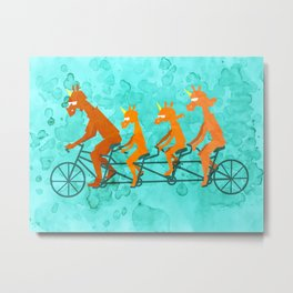 Father's Day Ride Metal Print