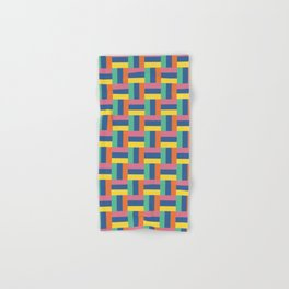 Geometric Pattern 001 Hand & Bath Towel