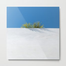 Over the tropical garden wall Metal Print