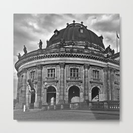 Bode Museum on the Berlin Museum Island Metal Print