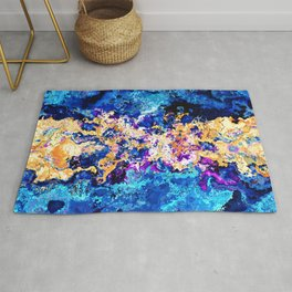 Abstract Marble Rug