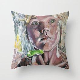 Lex! Throw Pillow