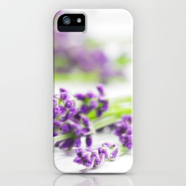 #Lavender #beauty #herb #still #life iPhone Case