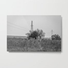 Abandoned Farm, North Dakota 1 Metal Print