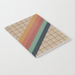 Old Video Cassette Palette Notebook