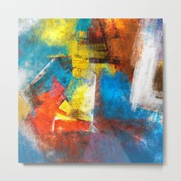Infinity abstract painting | Abstract Painting Metal Print