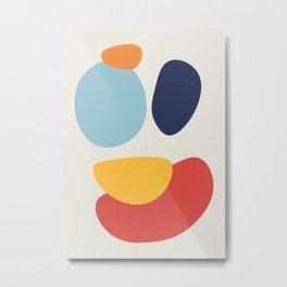 Abstract No.8 Metal Print