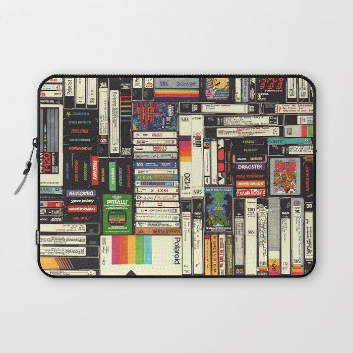 Cassettes, VHS & Games Laptop Sleeve