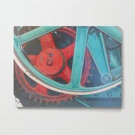Symphony in Red Minor Metal Print