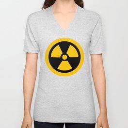 Yellow Radioactive Unisex V-Neck