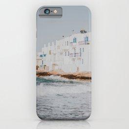 paros / greece iPhone Case