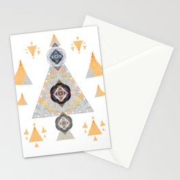 Mediation Art Print Peace and Vitality Geometric Stationery Cards
