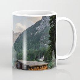 Mountain Lake Cabin Retreat Coffee Mug