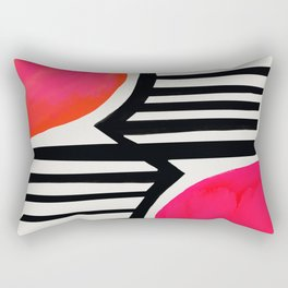 Sunset Shadows Rectangular Pillow