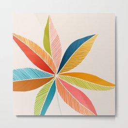 Multicolorful Metal Print