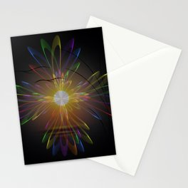 Light and energy - sunset Stationery Cards