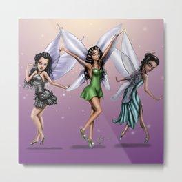 Fairy (all 3) Metal Print