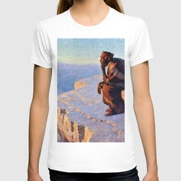 The Great Spirit - Grand Canyon by William R. Leigh T-shirt
