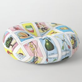 Lotería Cards Floor Pillow