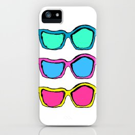 Highly speculative... (Pop Version) iPhone Case