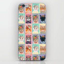 Cat land iPhone Skin