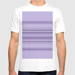 Pantone Purple Stripe Design T-shirt
