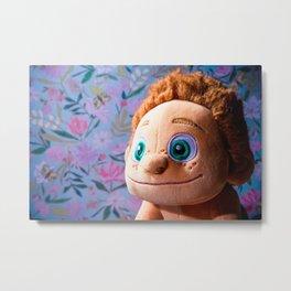 Stuffed Animal Tarzan Portrait 2 Metal Print