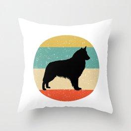 Belgian Sheepdog Dog Gift design Throw Pillow
