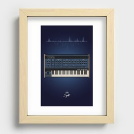 The Synth Project - Oberheim OB-XA Recessed Framed Print