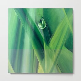A drop of water Metal Print