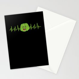 Heartbeat Jelly Delicious EKG Collection Stationery Cards