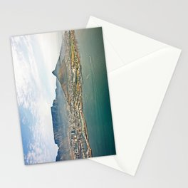Cape Town aerial view Stationery Cards