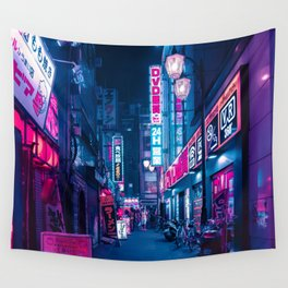 Tokyo 24h Wall Tapestry