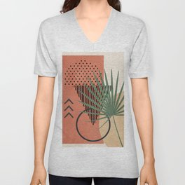 Nature Geometry II Unisex V-Neck