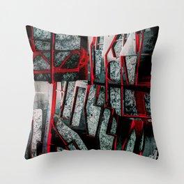 J2A ma0141 Junk To Art Throw Pillow