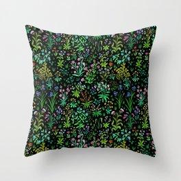 Medieval Spring Throw Pillow