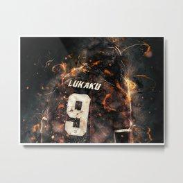 football star Metal Print