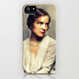 Helen Hayes, Vintage Actress iPhone Case