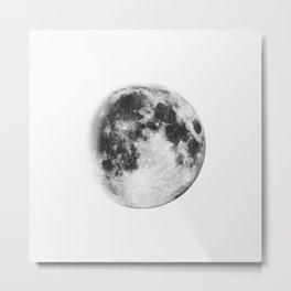 Winter Moon Metal Print