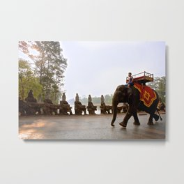 Typical Transportation Metal Print
