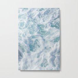 SEA - FOAM - PHOTOGRAPHY Metal Print