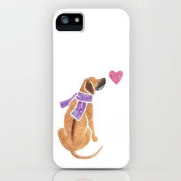 Watercolour Rhodesian Ridgeback iPhone Case
